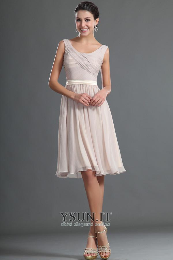 sale retailer b0b1b abf92 Abiti da sera corti economici online per eleganti donna