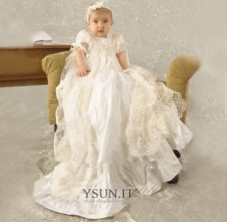 5ee8711c21bf Abito cerimonia bambina Formale Lungo Fiocco Alta Coperta Tipo standard  Naturale - Pagina 1 ...