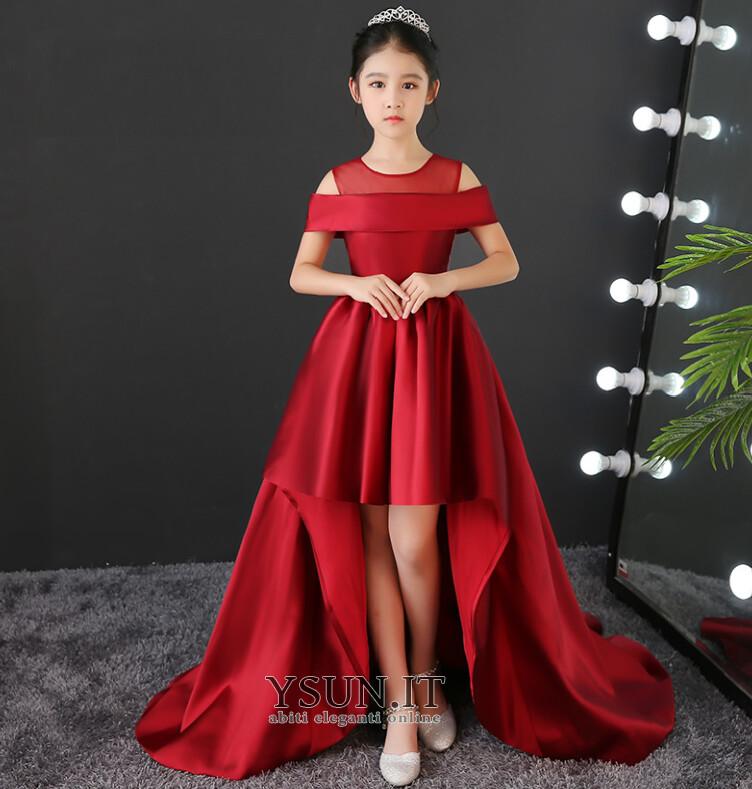 ac3040638d71 Abito cerimonia bambina Eleganti Non Specificato Senza Maniche Naturale  Alto Basso - Pagina 1 ...