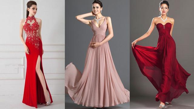 sports shoes c0c80 b0e78 Abiti da sera lunghi online economici per eleganti donna